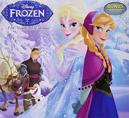 Disney Frozen Wall Calendar (2015) (2015 Custom Wall Calendar compare prices)