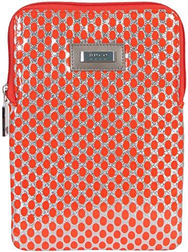 buco-handbags-isabella-ipad-mini-case-orange-silver-polka-dot