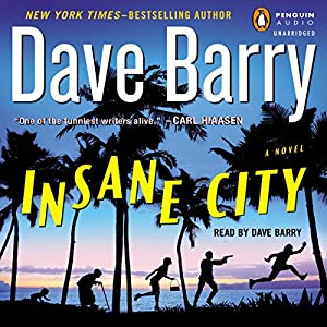 Insane City Audiobook