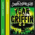 Year of the Griffin (       UNABRIDGED) by Diana Wynne Jones Narrated by Jonathan Broadbent