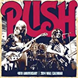 Rush 40th Anniversary Calendar