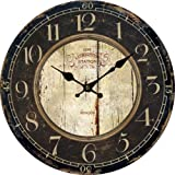 Lightinthebox Euro Country Vintage Wood Indoor Wall Clock Home D¨¦cor Clocks Size L