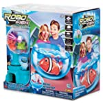 Robo Fish Fish Bowl Two Coral and Cas...