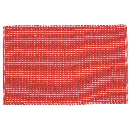 Now Designs Nova Kitchen Mat, Red