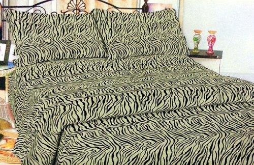 Twin Size Zebra Bedding front-1034239