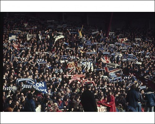 Photographic Print of 1974 LFC v Everton – Anfield crowd from Liverpool FC Pictures