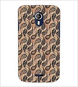 PrintDhaba Pattern D-5433 Back Case Cover for MICROMAX A116 CANVAS HD (Multi-Coloured)