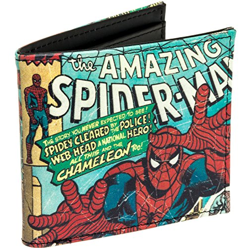 Marvel Comics Men's The Amazing Spider Man Wallet
