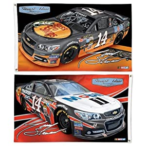 Tony Stewart Official NASCAR 3ftx5ft Banner Flag by Wincraft by WinCraft