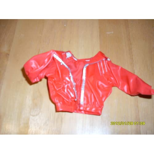 Michael Jackson Beat It Jacket for 12 in Doll. Everything
