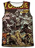 Unisex Zombies Sleeveless Walking Dead Voodoo Black Magic Comic Movie Vest Shirt
