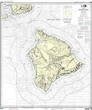 NOAA Chart 19320 Island Of Hawai39i
