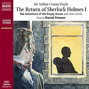 The Return of Sherlock Holmes I Hörbuch