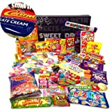 The Best Ever Retro Sweets MEGA Treasure Box + Chocolate Bars Pack (The Original Sweet Shop in a Box!)