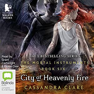 City of Heavenly Fire Hörbuch