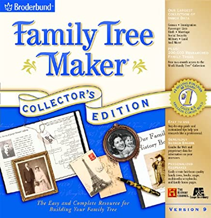 Family Tree Maker 9.0 Collector's Edition