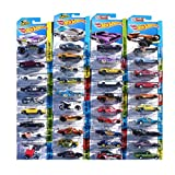 Hot Wheels 24-Car Random Assortment Party Pack 2014 and Newer (Color: Black, Yellow)