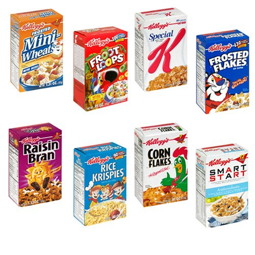 Kellogg's Family Assortment Cereal, Individual-Serving