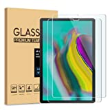 [2-Pack] Pulen for Samsung Galaxy Tab S5e Screen Protector(10.5 Inch),HD Anti-Scratch No Bubble Anti-Fingerprints 9H Hardness Tempered Glass for Galaxy Tab S5e SM-T720/SM-T725 Tablet,10.5'' 2019 (Color: Clear)