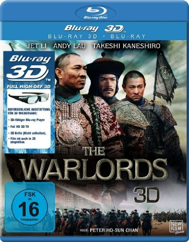 The Warlords 3D (3D Version inkl. 2D Version & 3D Lenticular Card)[3D Blu-ray]