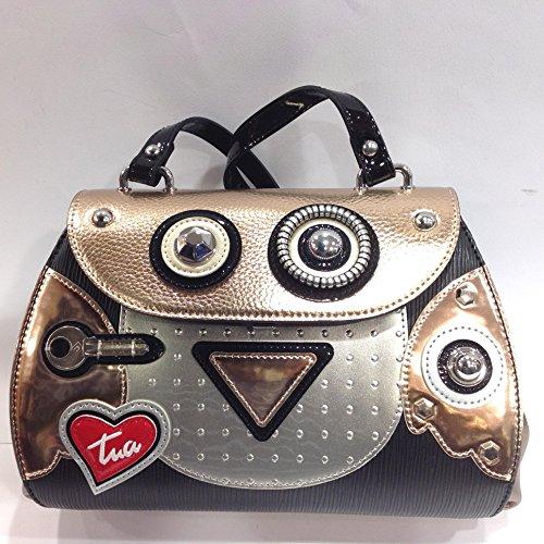 """borsa con tracolla BRACCIALINI, linea""""Robotics"""" art b10842"""