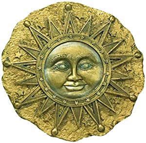 Spoontiques Sun Face Stepping Stone