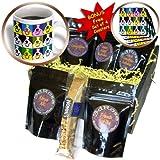 Sandy Mertens Right Pop Art Designs - Border Collie Pop Art - Coffee Gift Baskets - Coffee Gift Basket (cgb_6054_1)