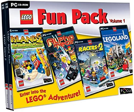 LEGO Fun Pack (4 CD SET) (PC)