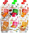 Happy Baby Organic Superfoods Stage 3 Hearty Meals Baby Food 6 Flavor Variety Pack (Pack of 12)