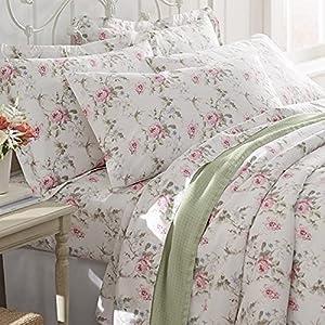 Orvis Cabbage Rose Sheet Set, Duvet Cover, And Sham / Only Full/Queen Duvet, , Full/Queen