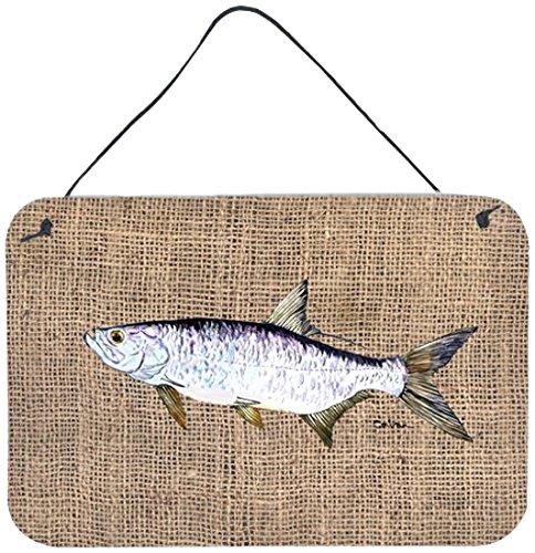 ターポン屋内アルミニウム金属製の壁やドアプリントハンギング - キャロラインは8774DS812魚宝物の商品画像