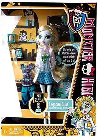 Monster High Y4687 -Lagoona Blue + extra Mode- Modell 2013