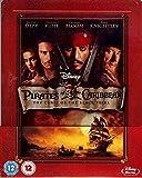 Fluch der Karibik (Pirates of the Caribbean - The Curse of the Black Pearl) - Exclusive Limited Edition Steelbook (Import MIT deutschem Ton) [Blu-ray]
