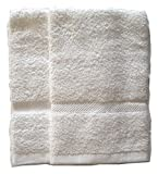 Snuggle Set of 2-white hand towels