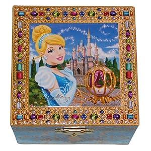 Disney Parks Exclusive Cinderella Musical Jewelry Box