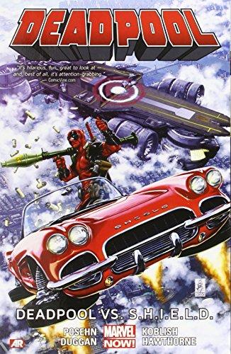 Deadpool 04 Deadpool VS Shield