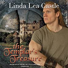 The Templar's Treasure (       UNABRIDGED) by Linda Lea Castle Narrated by Micah Linford, Jessica Osbourne