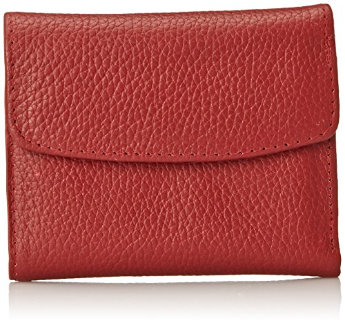 buxton-mini-trifold-wallet-card-case-dark-red-one-size