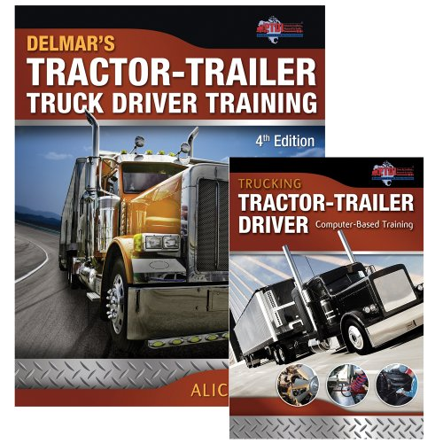 Bundle: Tractor-Trailer Truck Driver Training + Trucking: Tractor-Trailer Driver Computer Based Training, CD-ROM (Truck Driver Training compare prices)