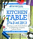 Kitchen Table Businesses: Starting a craft, food, fashion or gardening company from home bookshop  My name is Roz but lots call me Rosie.  Welcome to Rosies Home Kitchen.  I moved from the UK to France in 2005, gave up my business and with my husband, Paul, and two sons converted a small cottage in rural Brittany to our home   Half Acre Farm.  It was here after years of ready meals and take aways in the UK I realised that I could cook. Paul also learned he could grow vegetables and plant fruit trees; we also keep our own poultry for meat and eggs. Shortly after finishing the work on our house we was featured in a magazine called Breton and since then Ive been featured in a few magazines for my food.  My two sons now have their own families but live near by and Im now the proud grandmother of two little boys. Both of my daughter in laws are both great cooks.  My cooking is home cooking, but often with a French twist, my videos are not there to impress but inspire, So many people say that they cant cook, but we all can, you just got to give it a go.