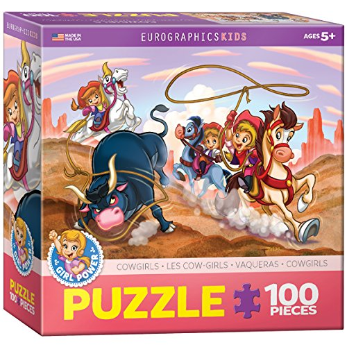 EuroGraphics Girl Power! Cowgirls Puzzle (100-Piece)