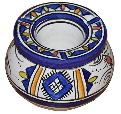 Ceramic Ashtrays Moroccan Hand Made Smokless