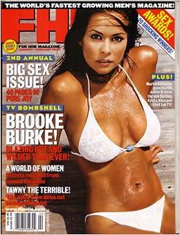 Fhn, for Him Magazine, Brooke Burke, January/february 2003: Amazon.com