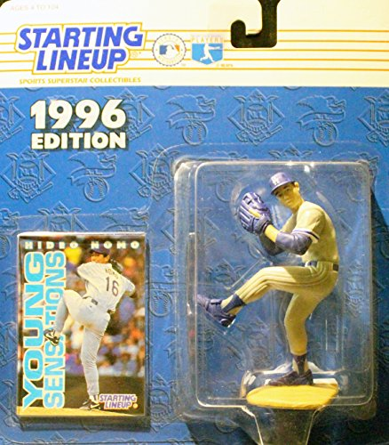 1996 MLB Starting Lineup - Hideo Nomo - Los Angeles Dodgers
