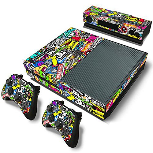 Mod Freakz Xbox One Console Vinyl Skin and Controller Skin Bombing Graphics (Xbox One Console Mods compare prices)