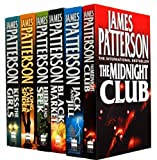 James Patterson James Patterson Alex Cross Collection 6 Books Set Pack RRP: £43.94 (Alex Cross) (James Patterson Collection) (The Midnight Club, Along Came a Spider, Jack and Jill, Hide and Seek, Black Market, Kiss the Girls)