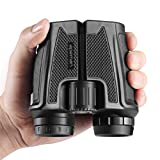 APEMAN 12x25 Binoculars for Adults,Folding High Powered Binoculars with Weak Light Night Vision Clear for Bird Watching Outdoor Sports Games and Concerts (12x25) (Tamaño: 12x25)