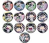 おそ松さん 侍ジャパンコラボトレーディング缶バッジ BOX商品 1BOX = 13個入り、全13種