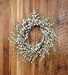 Pure Elegance Wreath Size: 22\
