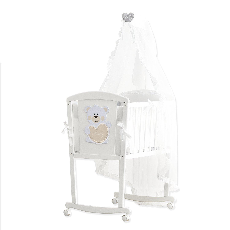 Pali Babywiege aus Buchenholz komplett mit Textilien Design Baby Baby günstig